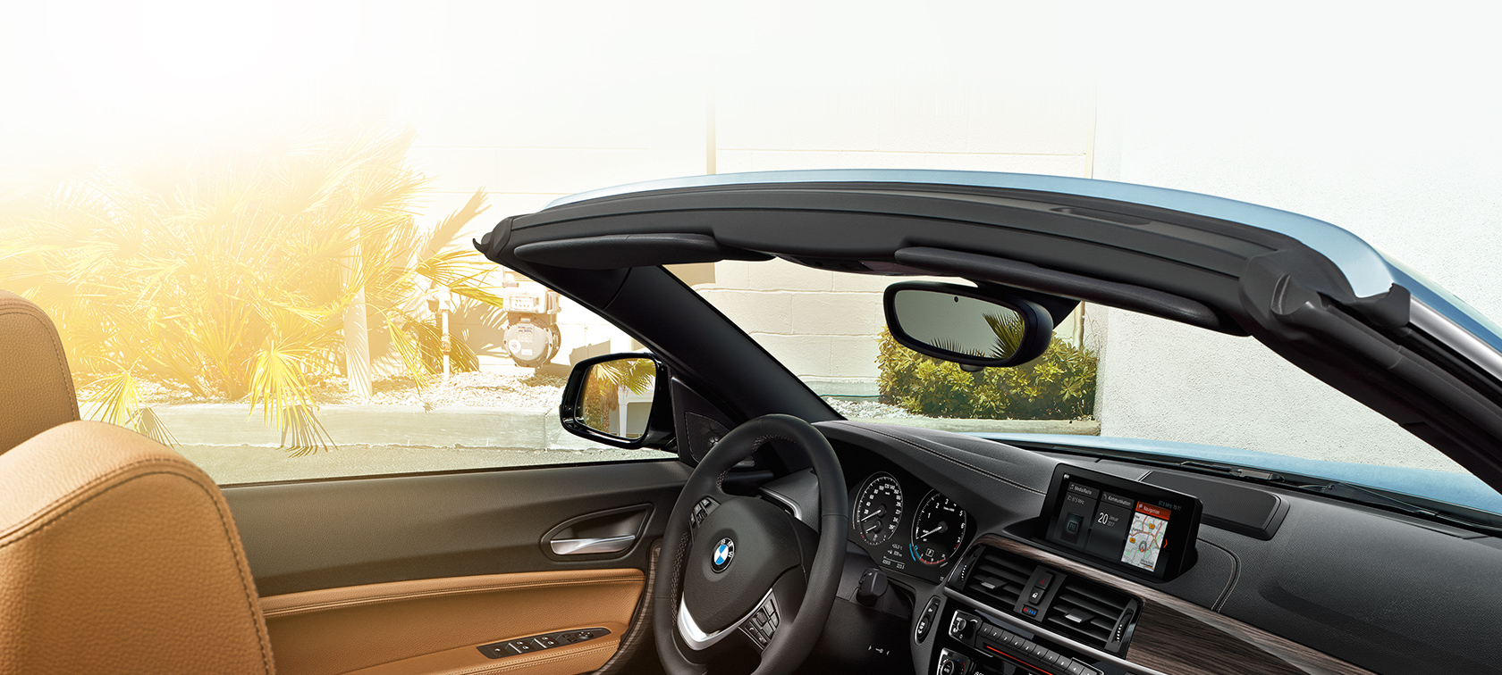 BMW 2-Series Convertible front window view