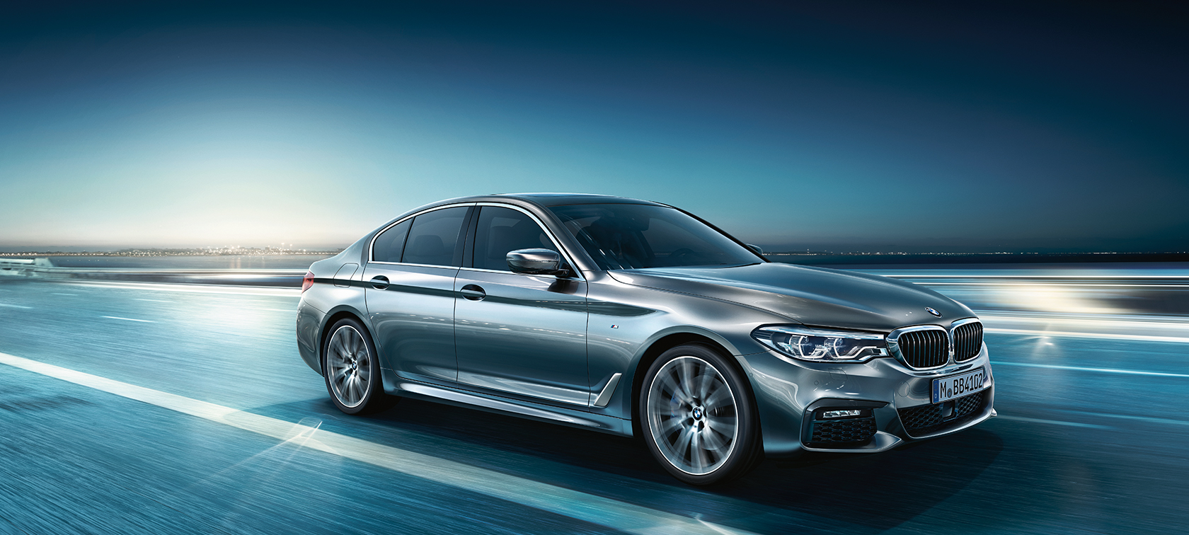 BMW 5-Series Sedan metallic color: modern perfection