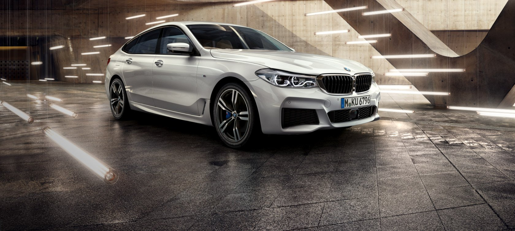 The all new bmw 6 series gran turismo