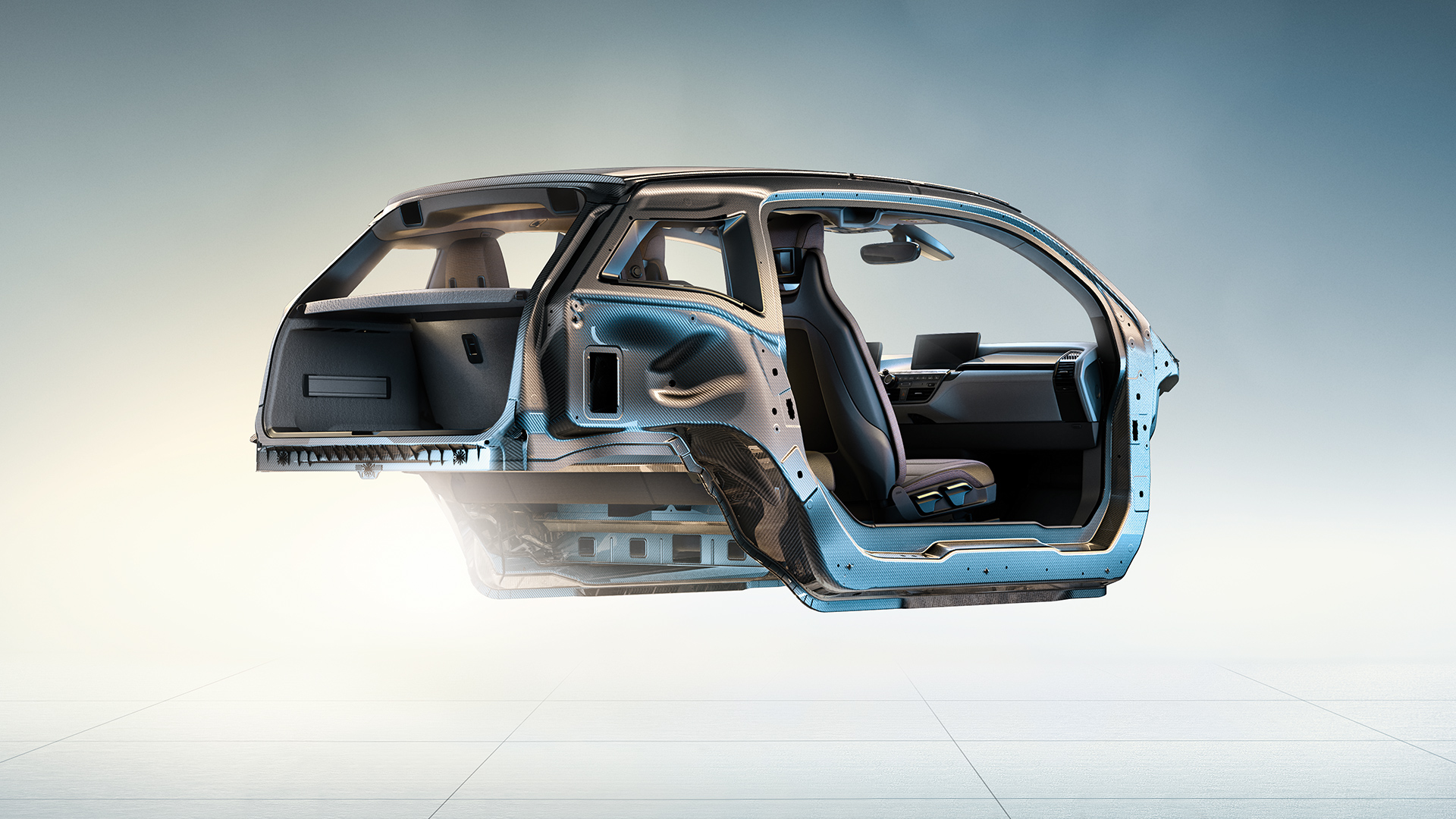 BMW i-Series i3 steel frame