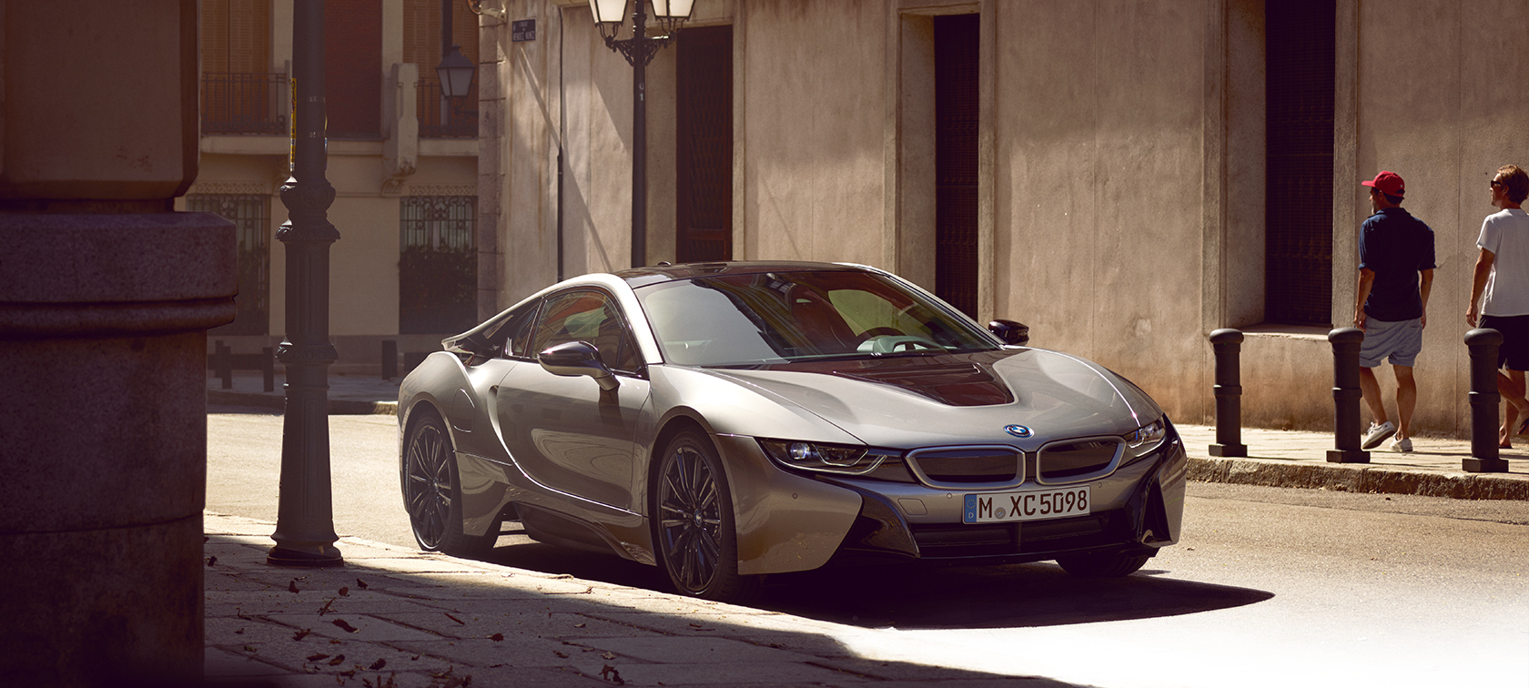 The new BMW i8 Coupé.