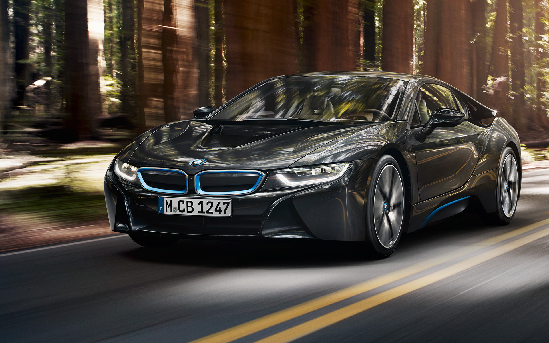 The electrifying BMW i8