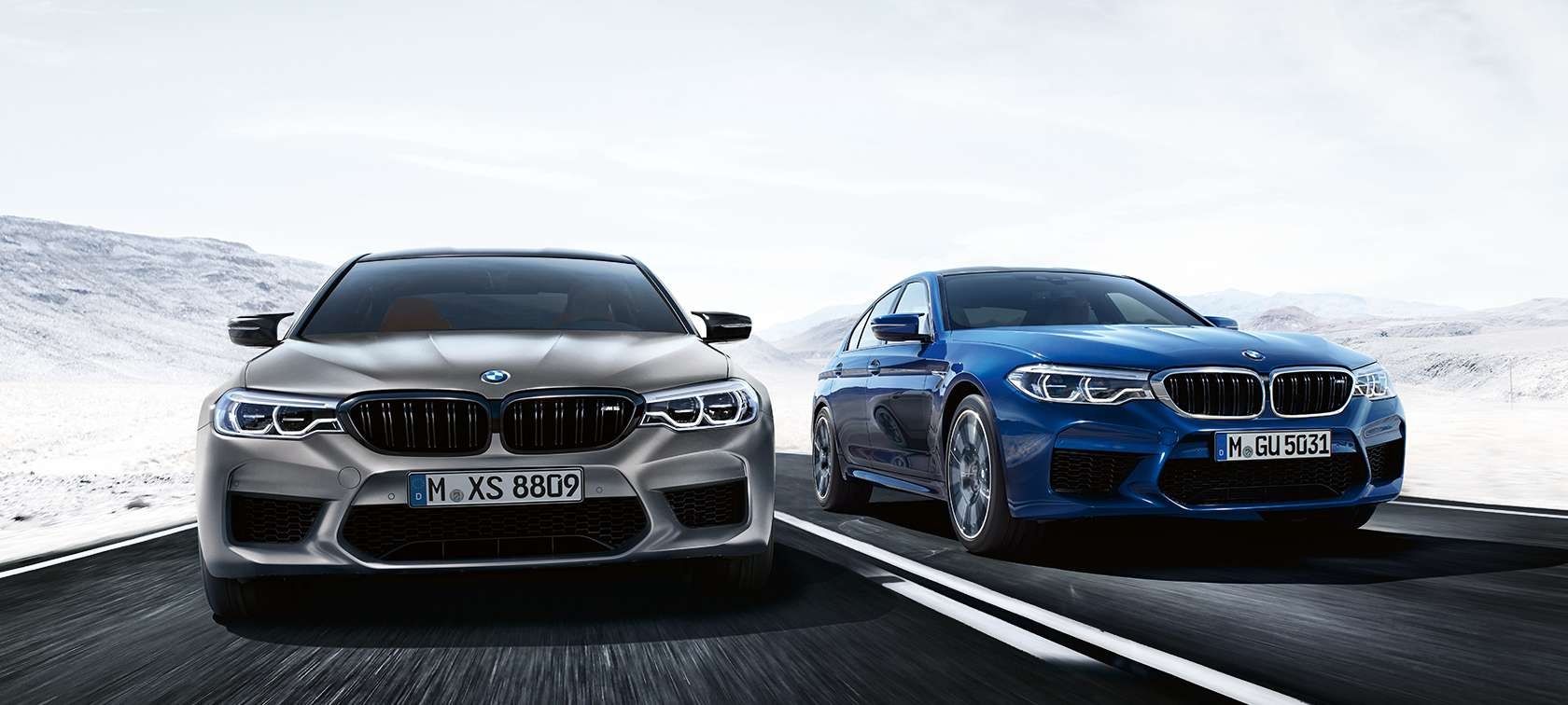 The all new bmw m5 with m xdrive