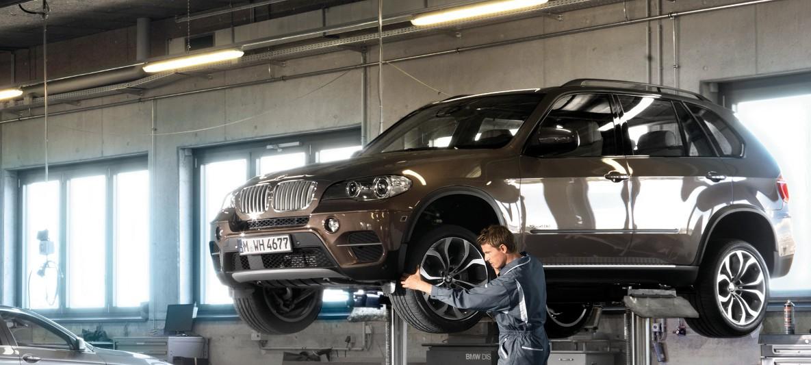 BMW Services : Vehicle Check & Maintenance